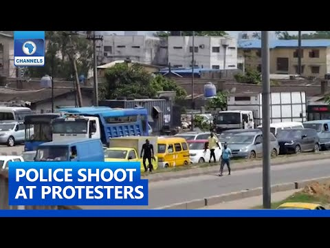 #SARSMUSTEND: At Least One Killed In Surulere #EndSARS Protest