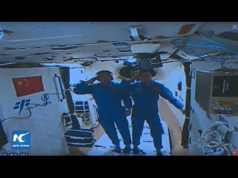 Live: Chinese astronauts enter Tiangong-2 space lab from Shenzhou-11 spacecraft