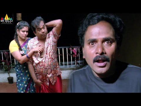 Brahmanandam and Sunil Comedy Scenes Back to Back   Telugu Movie Comedy   Sri Balaji Video