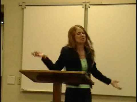 Mary Grace preaching on Daniel 1:8-20 at Fuller Theological Seminary