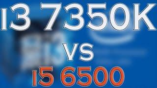 i3 7350k vs i5 6500 benchmark gaming tests review and comparison kaby lake vs skylake