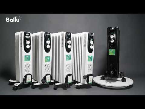 Масляный радиатор Ballu BOH/CL-09WRN (видео 1)