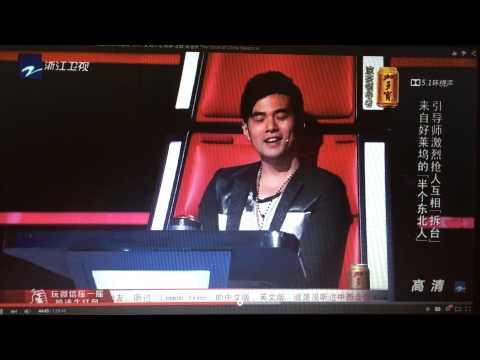 Harlem Yu and Jay Chou banter about speaking English on TVOC4.