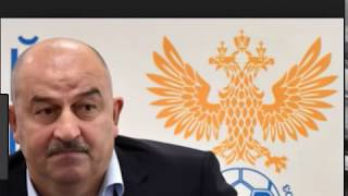 Stanislav Cherchesov , coach of Russia national team at the FIFA World Cup in Russia