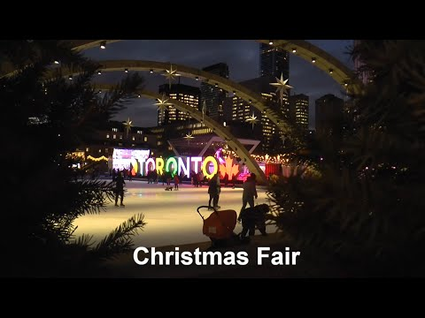 """Christmas """"Fair in the Square"""" in Toronto"""