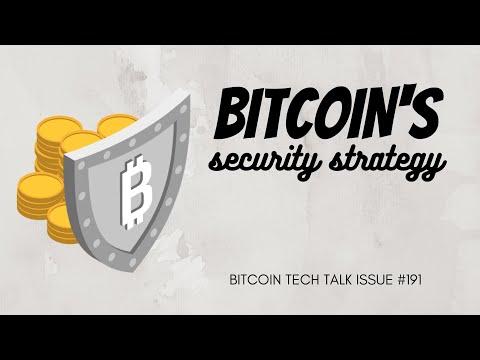 Bitcoin's Security Strategy! Bitcoin Tech Talk Issue #191