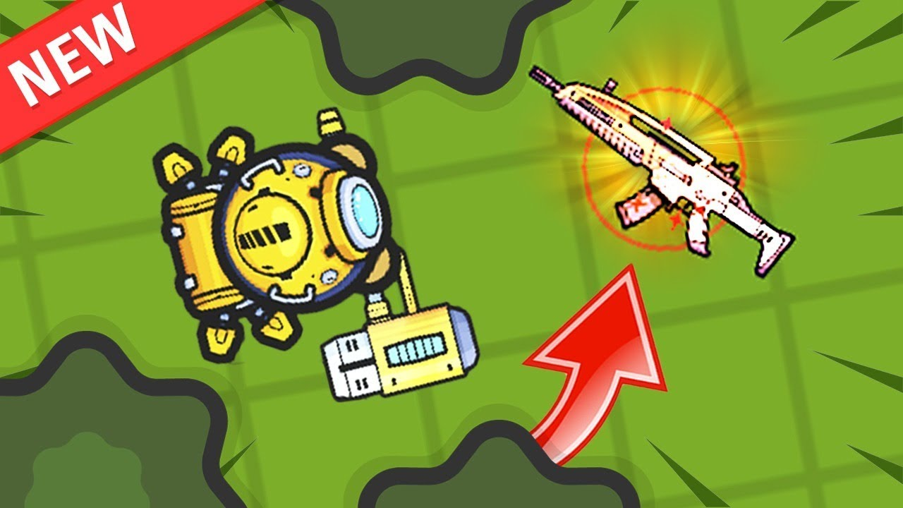 FUTURISTIC LASER WEAPON UPDATE!.. // Zombs Royale io