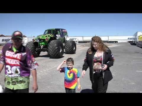 Monster Jam - World Finals 2012 -  VIP Experience of a Lifetime Sweepstakes Winner, Ashley Bosse