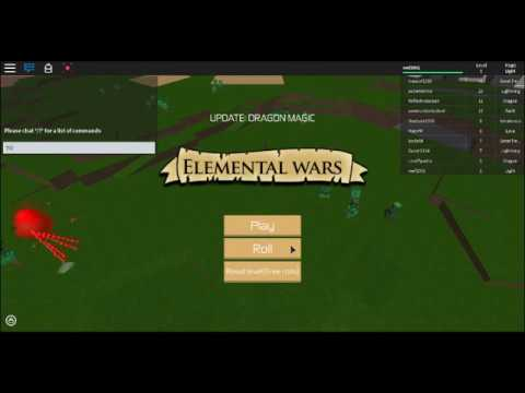 (PATCHED)Roblox (Elemental Wars) HOW To Get Fast Xp With ...