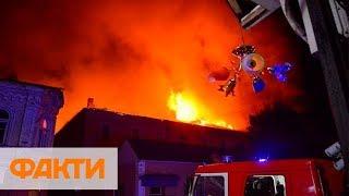 В Луцке сгорел военный госпиталь, эвакуированы 80 пациентов