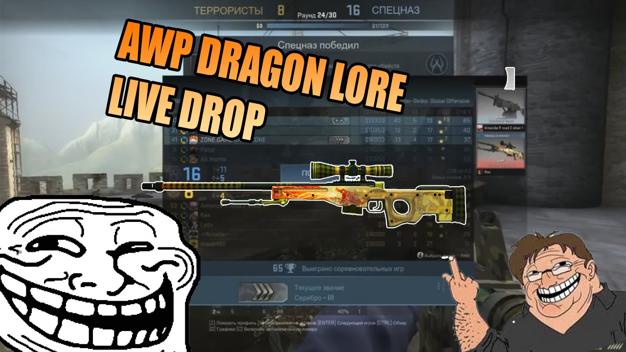 Drop cs go csgo total money