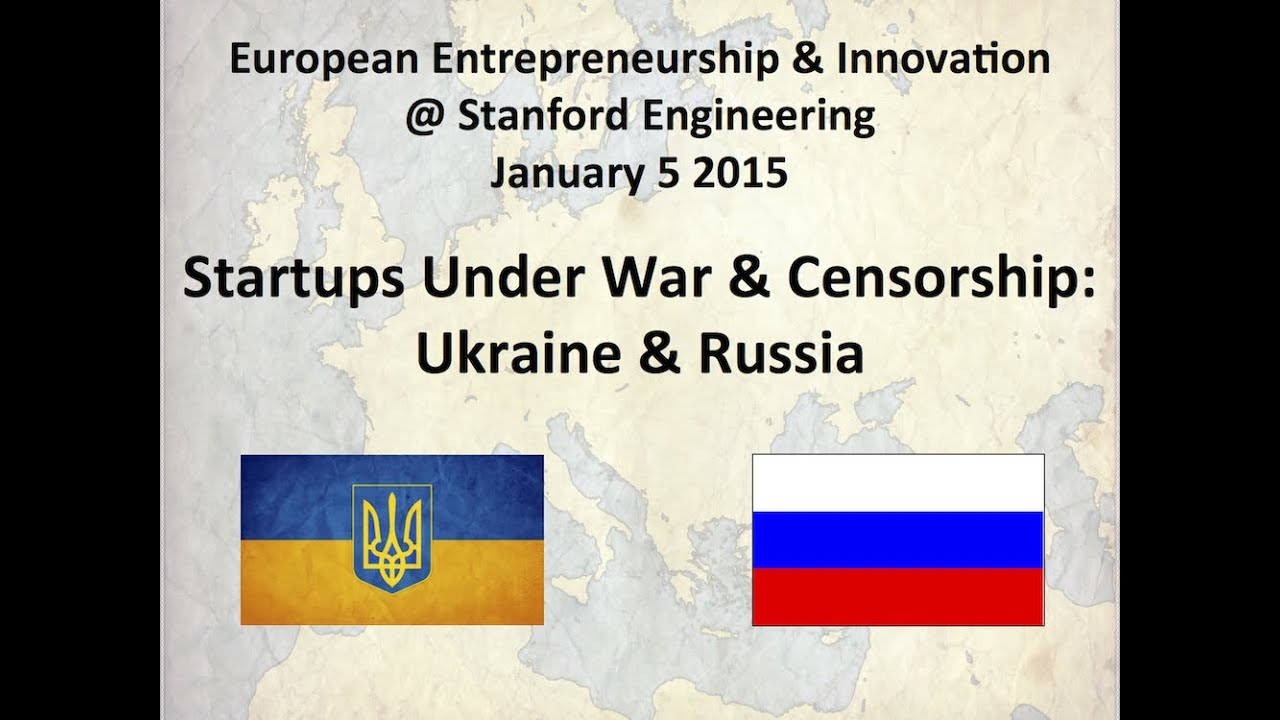 European Entrepreneurship & Innovation - Stanford School of Engineering