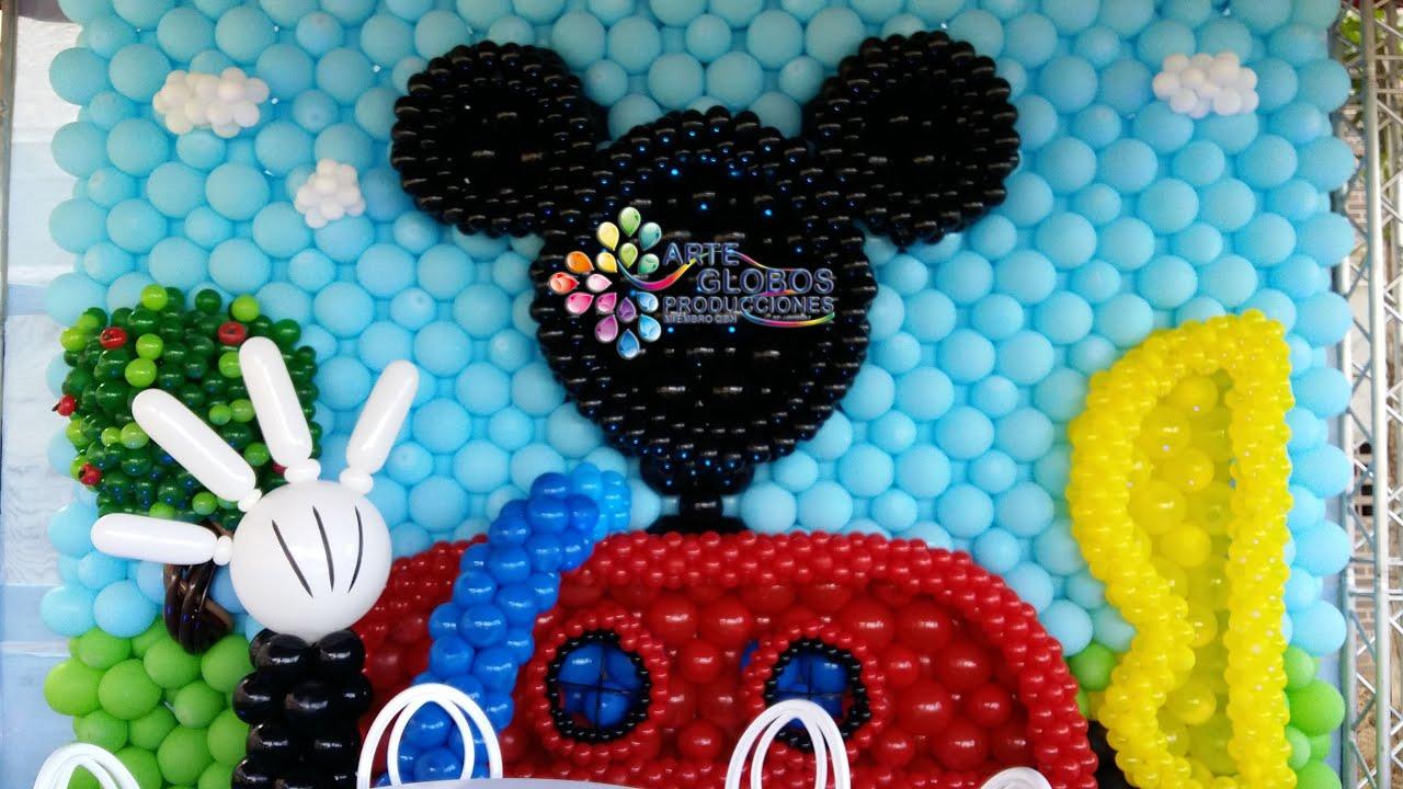 Mickey mouse decoraciones para fiestas for Decoracion y ideas