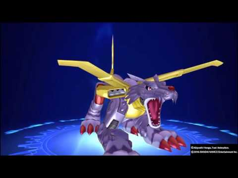 Digimon Story Cyber Sleuth: All WereGarurumon Digivolutions