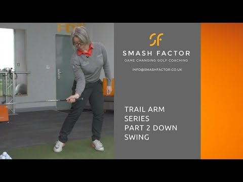 What your trail elbow should do on golf down swing