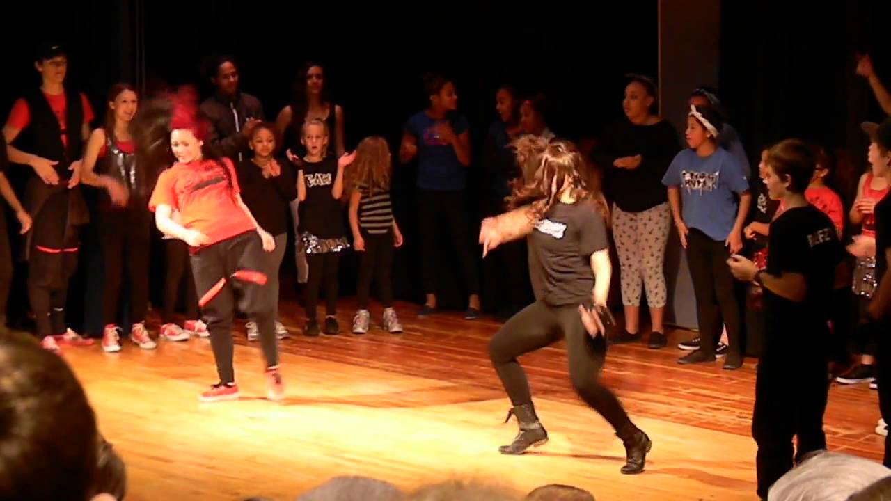 REACH! Freestyle hip hop dance to Cburg Hype song - YouTube