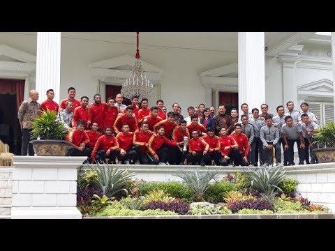 Punggawa Timnas U-22 Diguyur Bonus Rp 200 Juta dari Jokowi
