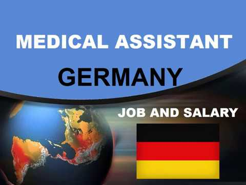 Medical Assistant Salary In Germany - Jobs And Wages In Germany