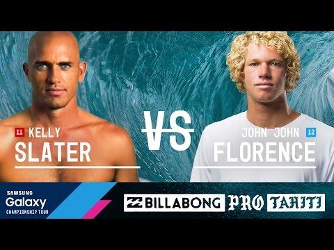 Kelly Slater vs. John John Florence  Billabong Pro Tahiti 2016 Final