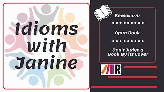 Idioms with Janine - Book Idioms