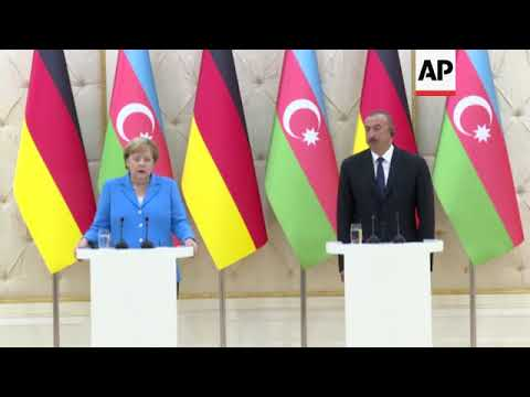 Merkel praises Azerbaijan's role in creation of Southern Gas Corridor energy supply route