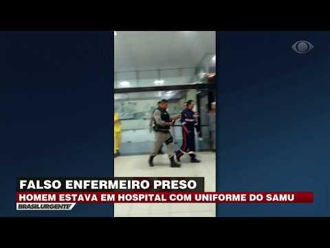 PB: Falso enfermeiro é preso em hospital
