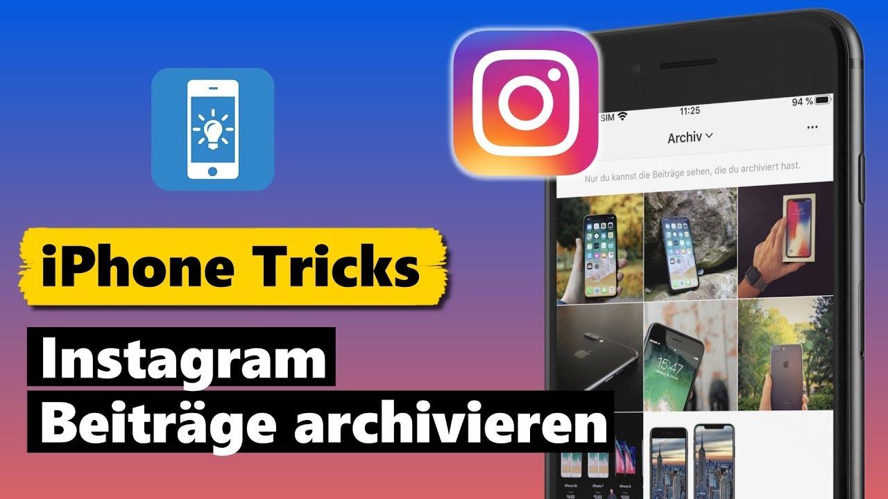 Instagram Archivieren