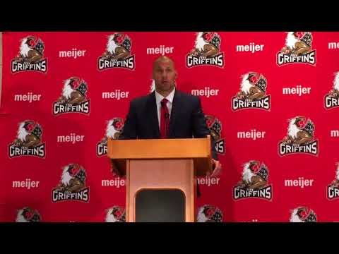 What Ben Simon said in introduction as Griffins' new coach