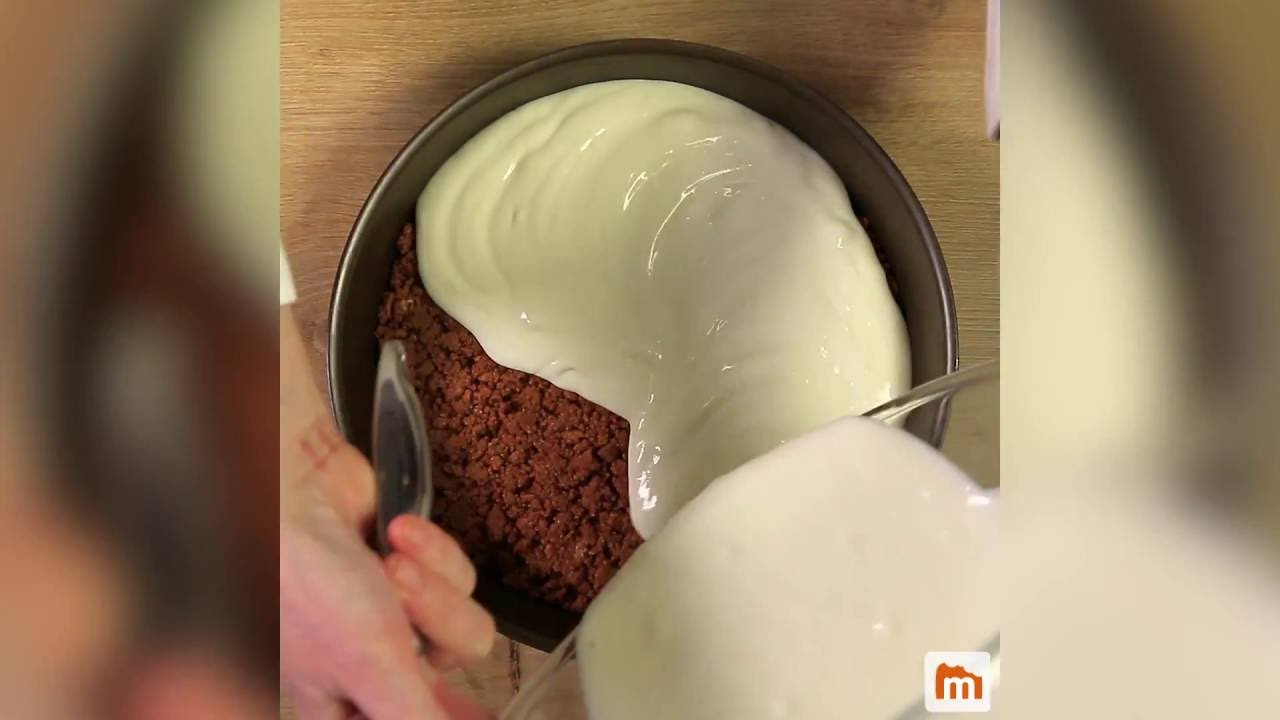 Cheesecake fromage blanc-speculoos - YouTube
