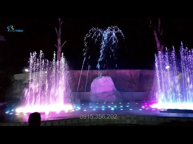Sàn nhạc nước nghê thuật Long Thành - Đồng Nai