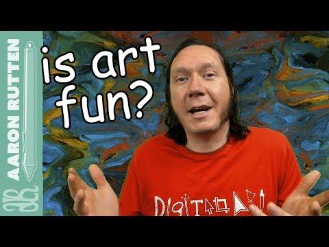 Is Art Supposed to Be FUN? - Digital Artist Vlog