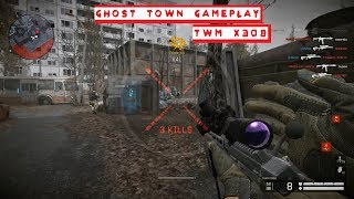 WARFACE- TDM, GHOST TOWN, TWM X308 GAMEPLAY, TROLLING IN VOICE CHAT