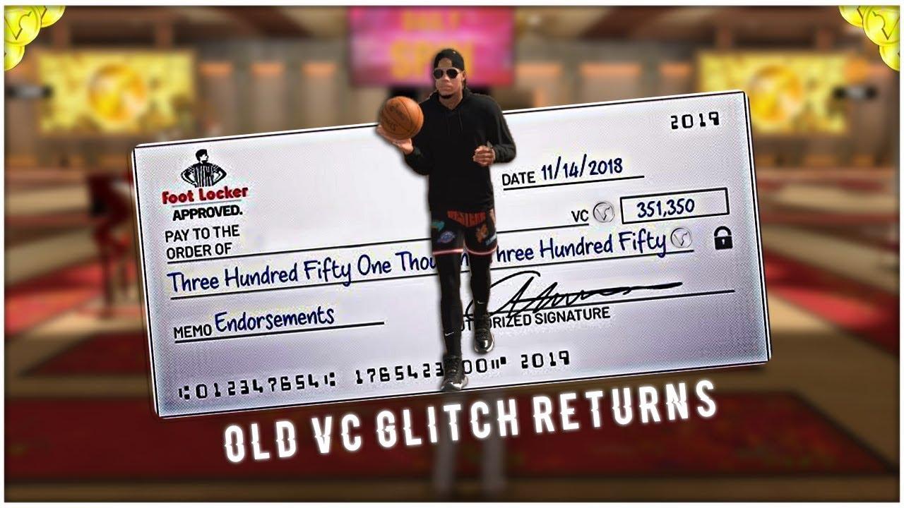 NBA 2K19 OLD VC GLITCH RETURNS!? NEW VC GLITCH AFTER PATCH 1 08 UPDATE!  XB1/PS4/PC