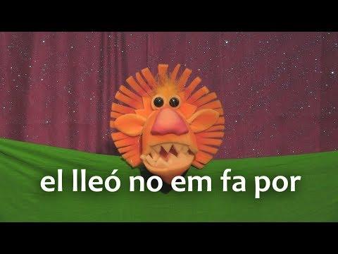 El lleó no em fa por【Vídeo·Clip·Petit·✿】 - YouTube