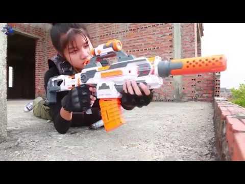 Nerf Guns War: SEAL TEAM Special Fight Group Of Dangerous 2