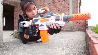 Nerf Guns War: SEAL TEAM Special Fight Group Of Dangerous 2