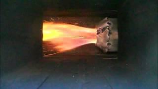 Rocket stove pellet burner #2