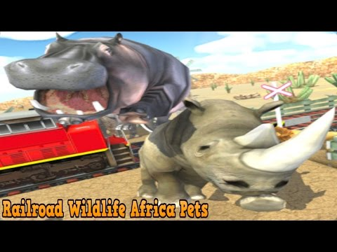 👍Railroad Wildlife Africa Pets-By Chief Gamer Simulation Pretend Play - iTunes/Android