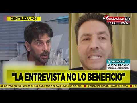 #CrónicaAlMediodia | Analizamos los gestos de Juan Darthes con un especialista