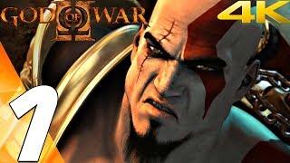 God of War 2 HD - Gameplay Walkthrough Part 1 - Prologue [4K 60FPS]