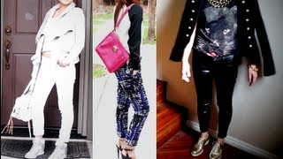 Fall Winter Fashion Trends 2012-2013 & Style Lookbook- Winter Whites, Sporty Chic, Gold and Black Thumbnail