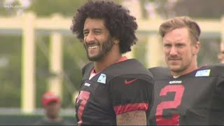 Panthers players speak out on Colin Kapernick