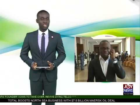 Paperless Port System - The Market Place on Joy News (21-8-17)