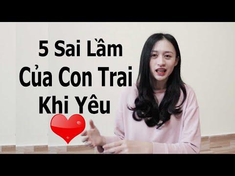 5 Sai Lầm Của Con Trai Khi Yêu | Trần Minh Phương Thảo