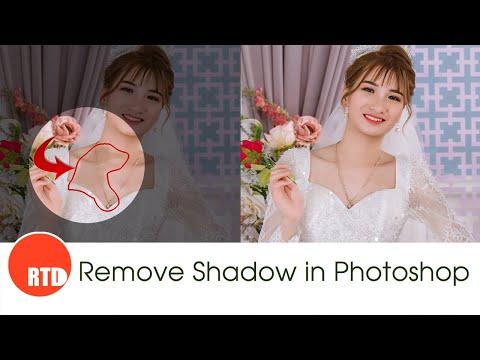 Loại bỏ vùng Shadow trên ảnh trong Photoshop!