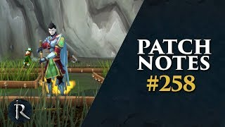 RuneScape Patch Notes #258 - 4th March 2019