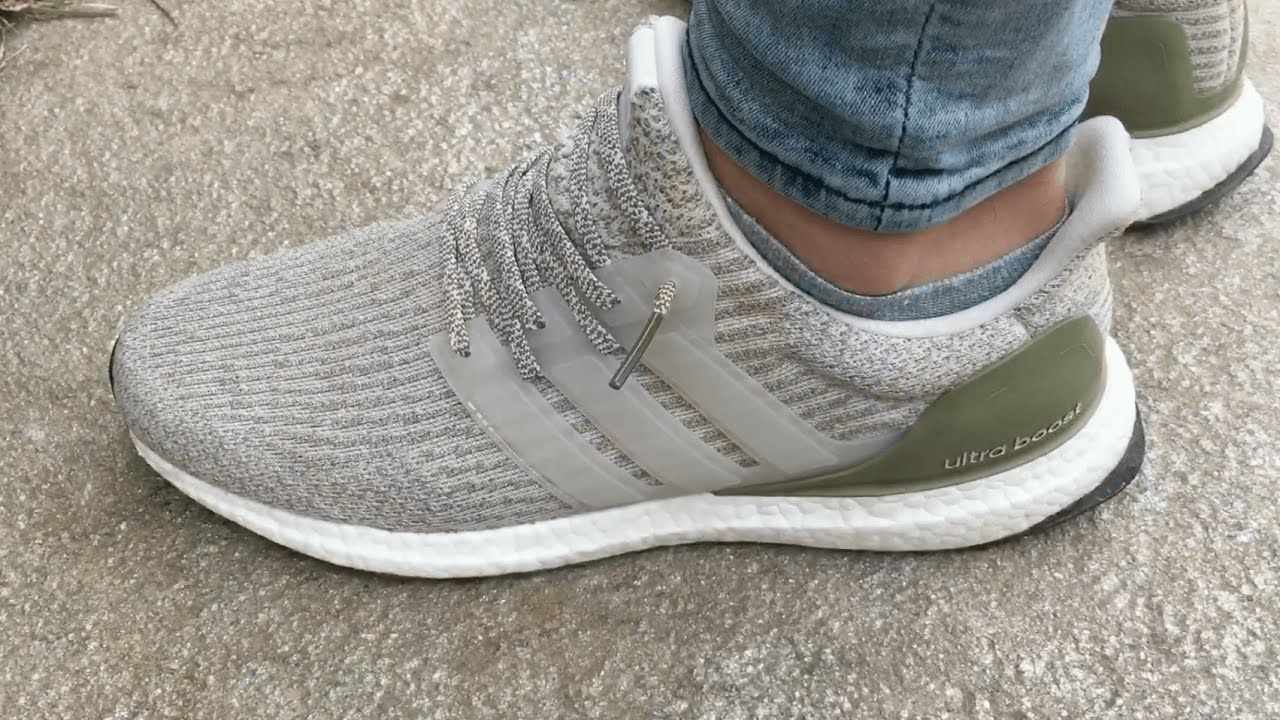 fe3016256d46d Adidas Ultra Boost 3.0 Olive Copper Close Look-up   Review - YouTube