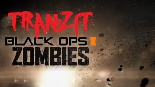 Black Ops 2 Zombies Tranzit VERY First Solo Game