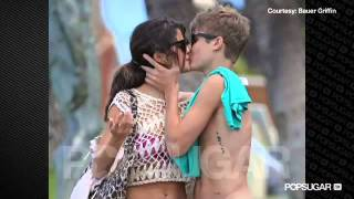 justin and selena unbelievable kisses