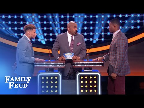 Amari Cooper Keeps The Feud GUESSING! | Celebrity Family Feud